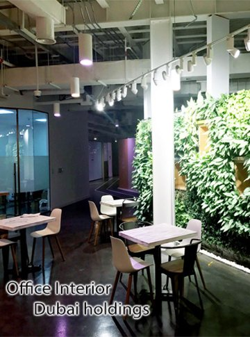 office interior fitout design Dubai holdings