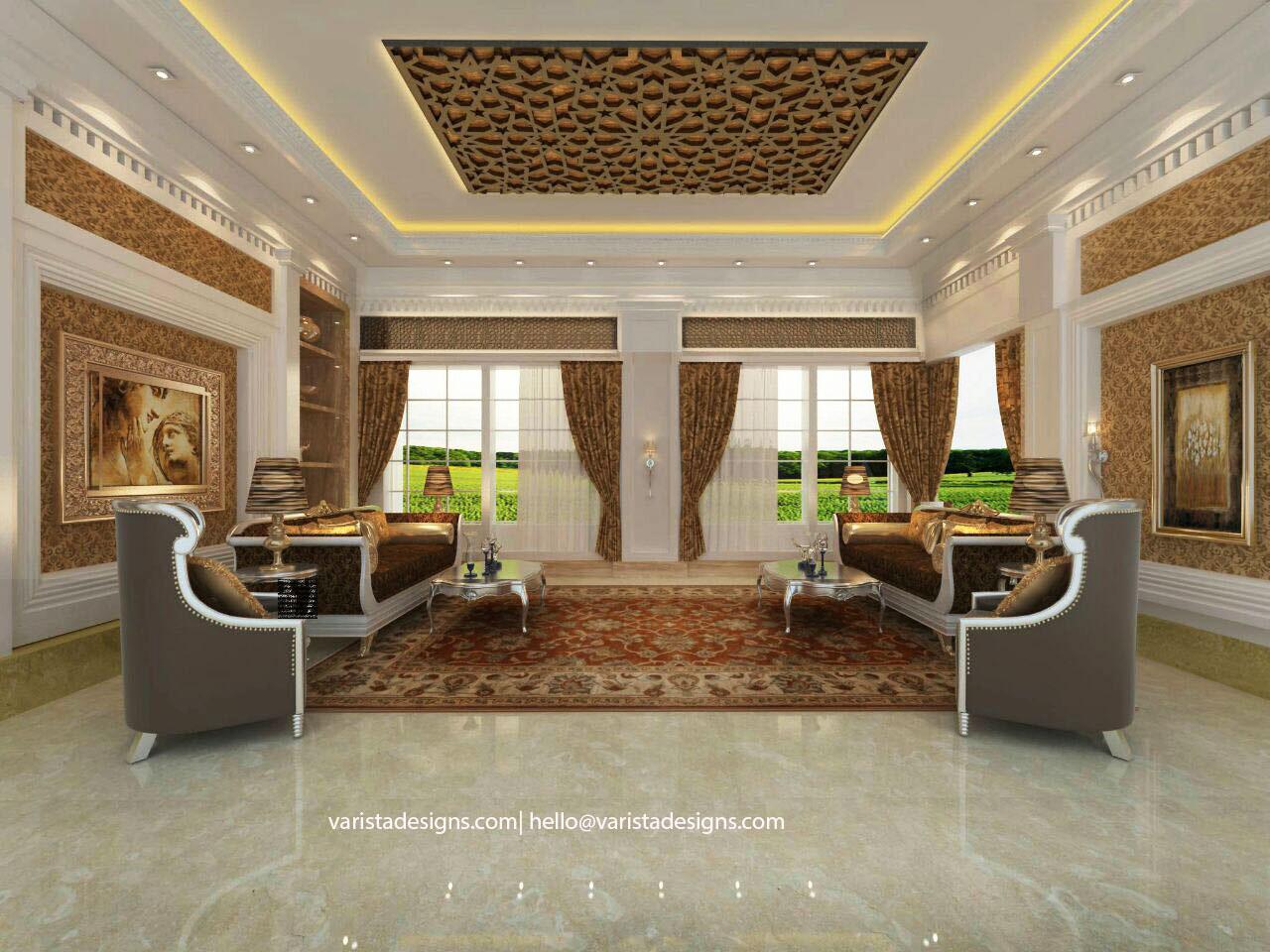 modern villa interior design fitout dubai