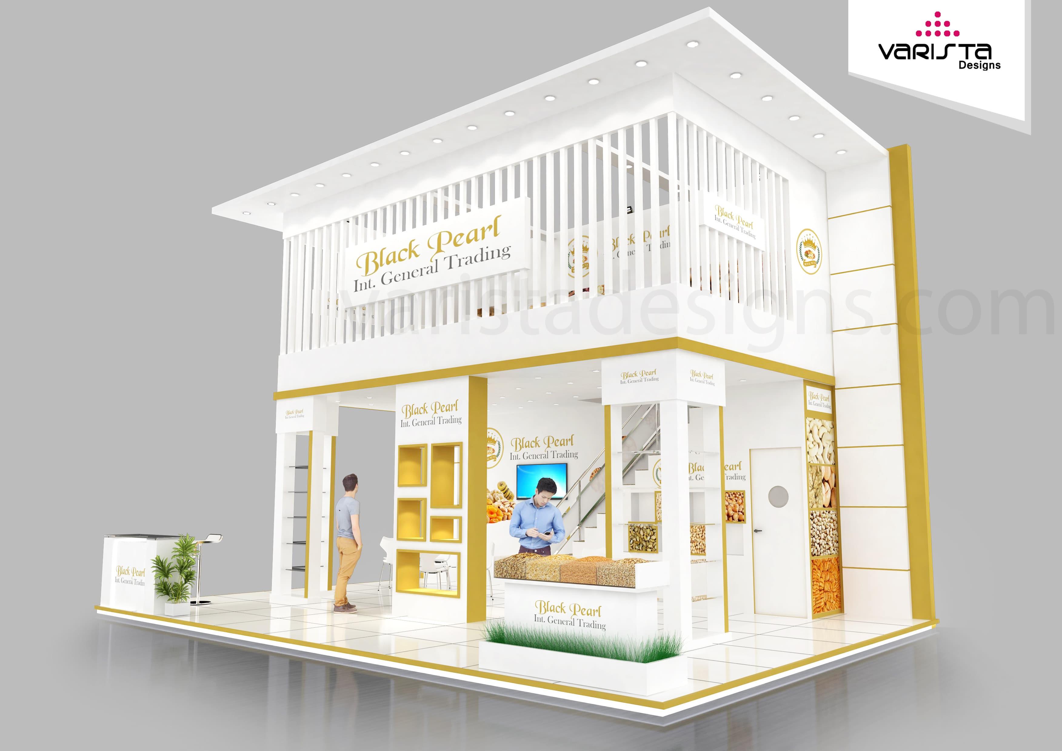 Black Pearl International General Trading Exhibition stand Dubai