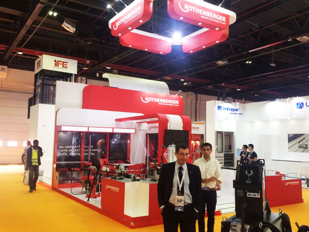 rothenberger the big 5 exhibition stand builders show dubai