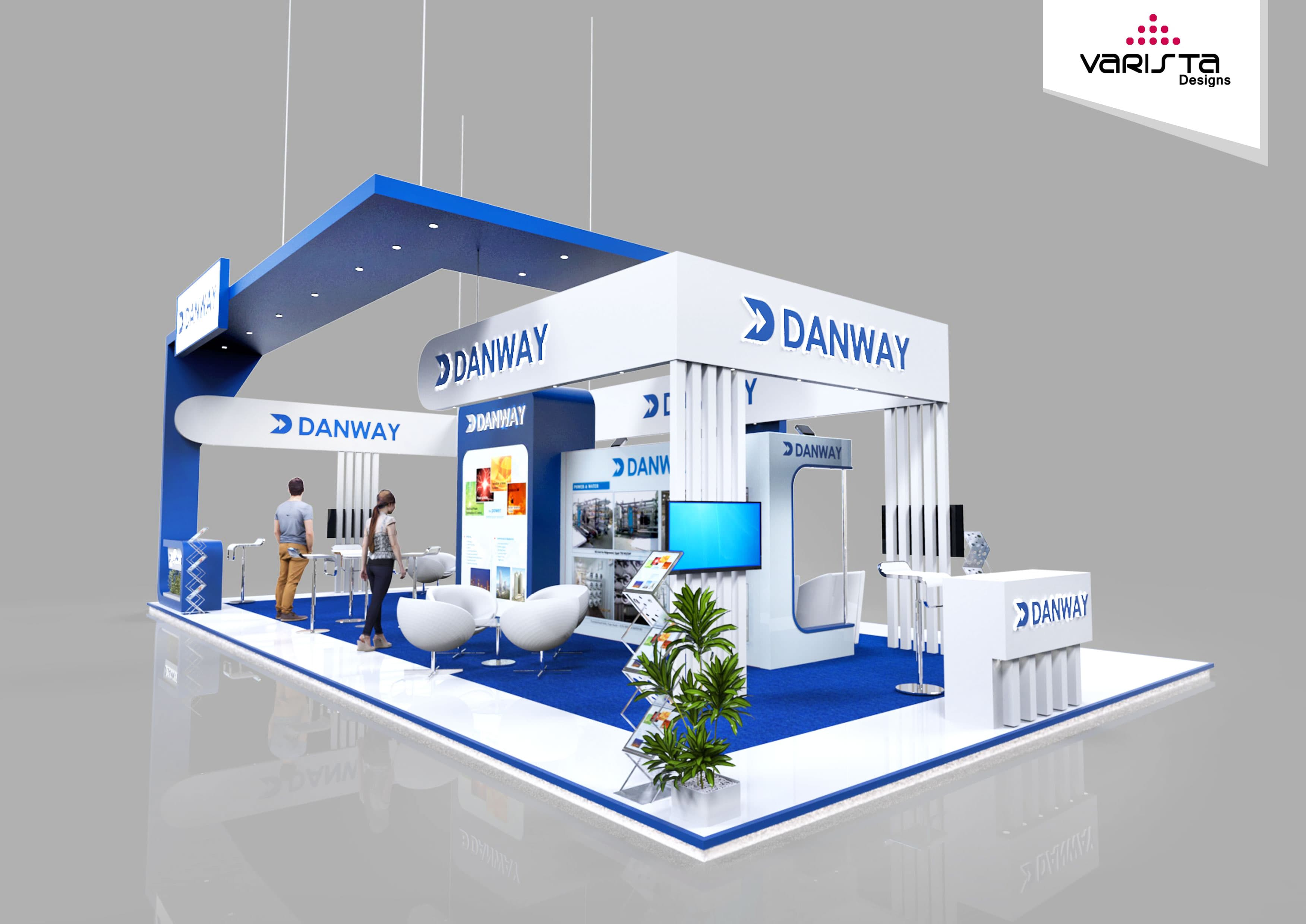 Exhibition Stand Design And Build Dubai : Exhibition stand design proposal for danway be a part of