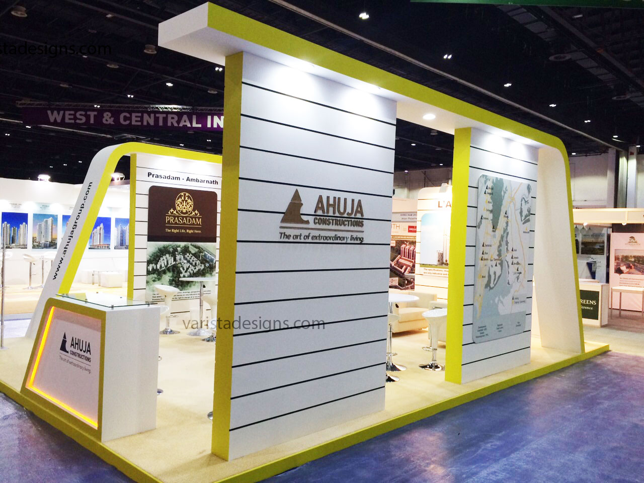 Ahuja construction exhibition stand builders