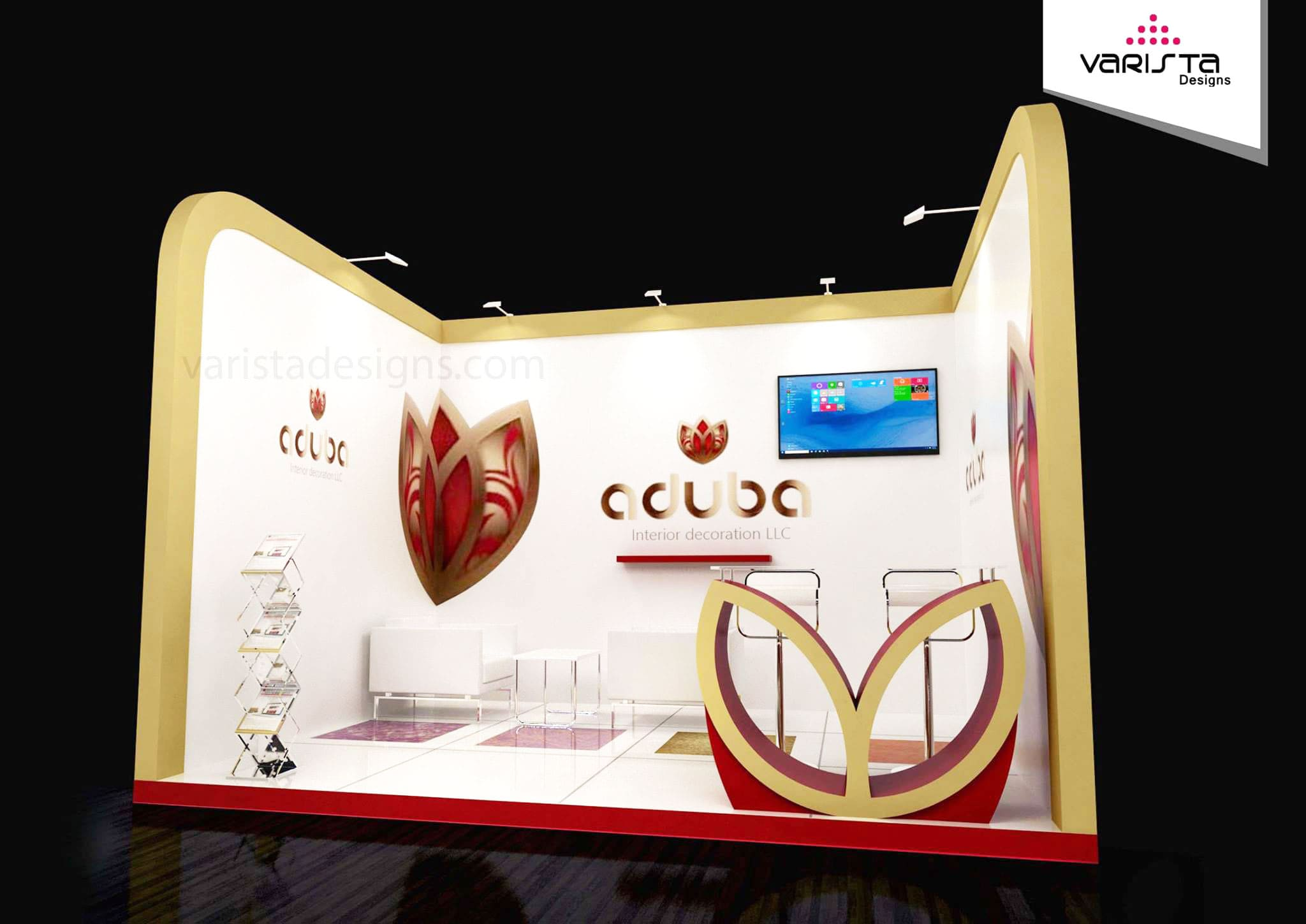 exhibition stand designers for aduba