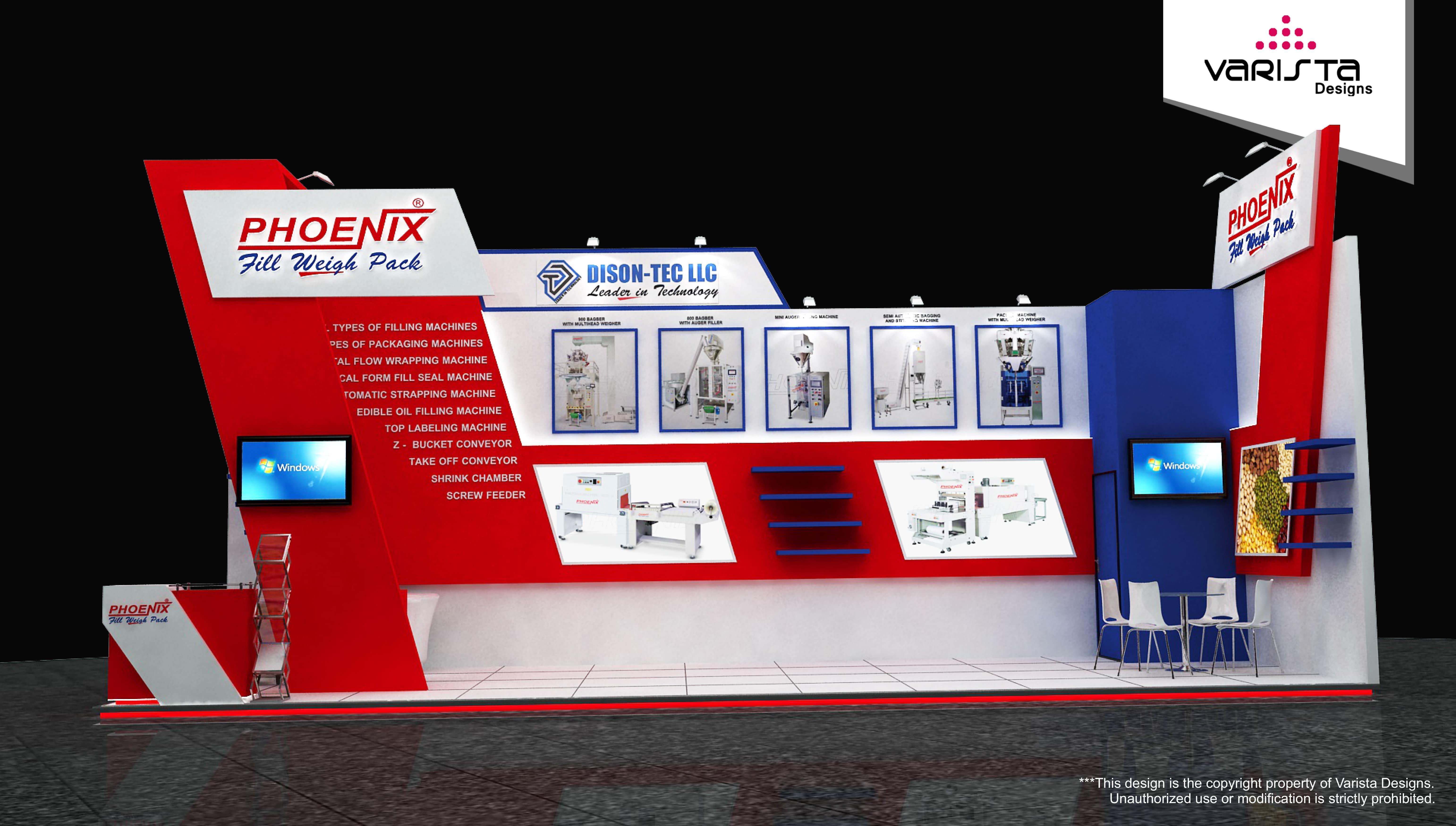 Dison tec llc exhibition stall design dubai