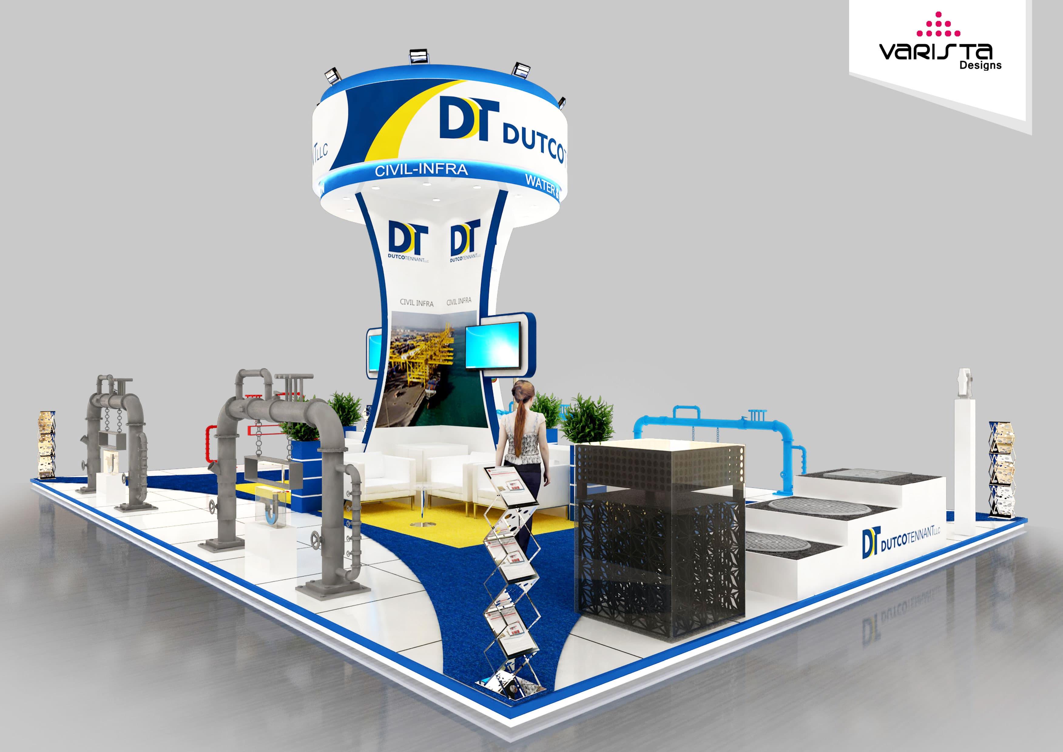 dutco tenant exhibition stand in dubai