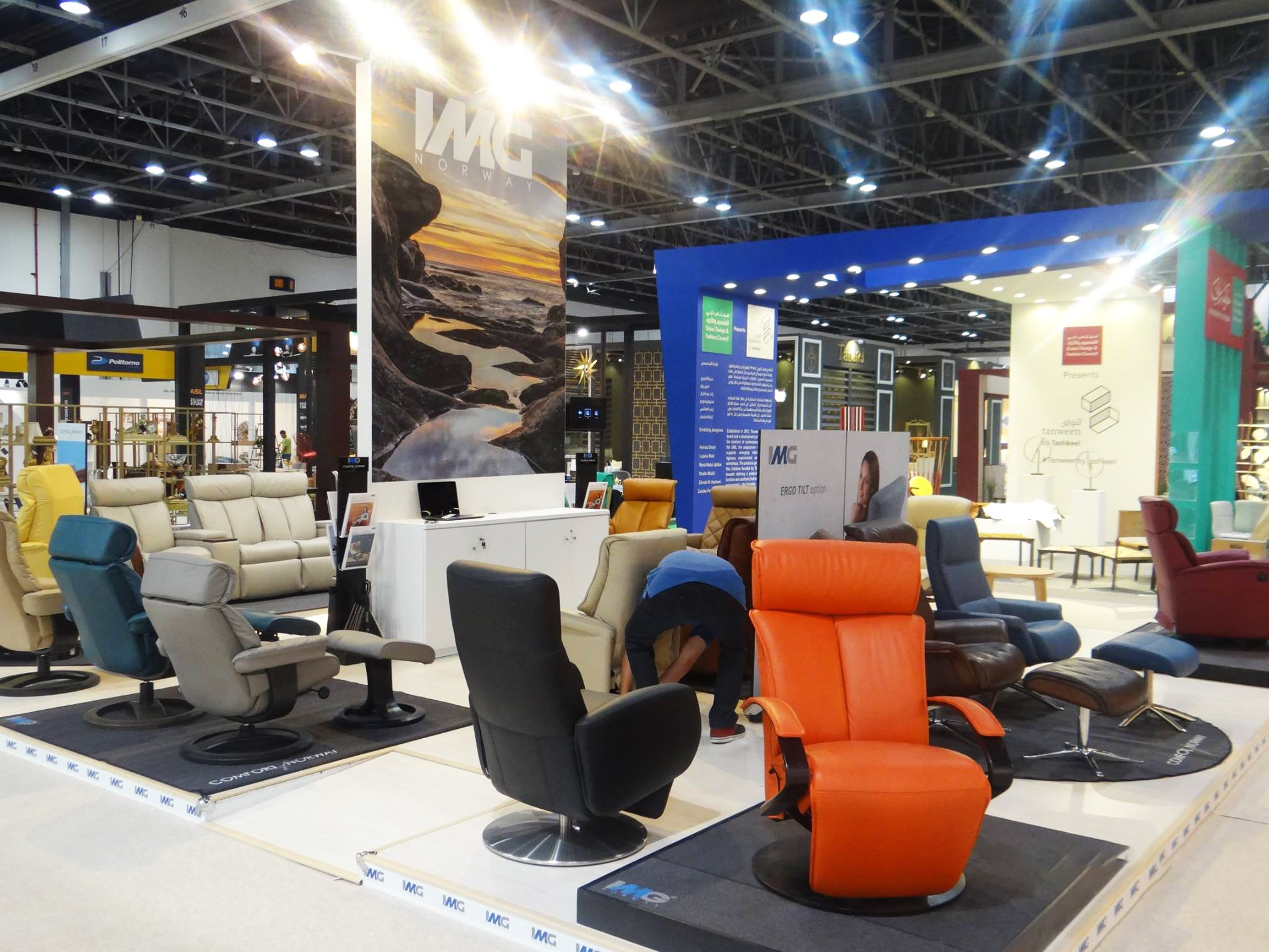 exhibition stand designers in dubai