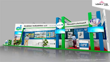 Arabian Industries llc exhibition Stand Adipec