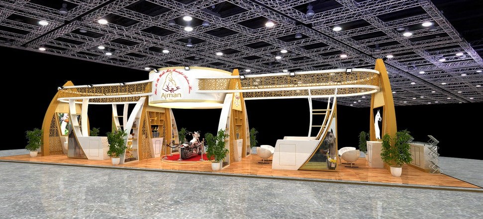 Exhibition Stand Designs for Ajman Stud