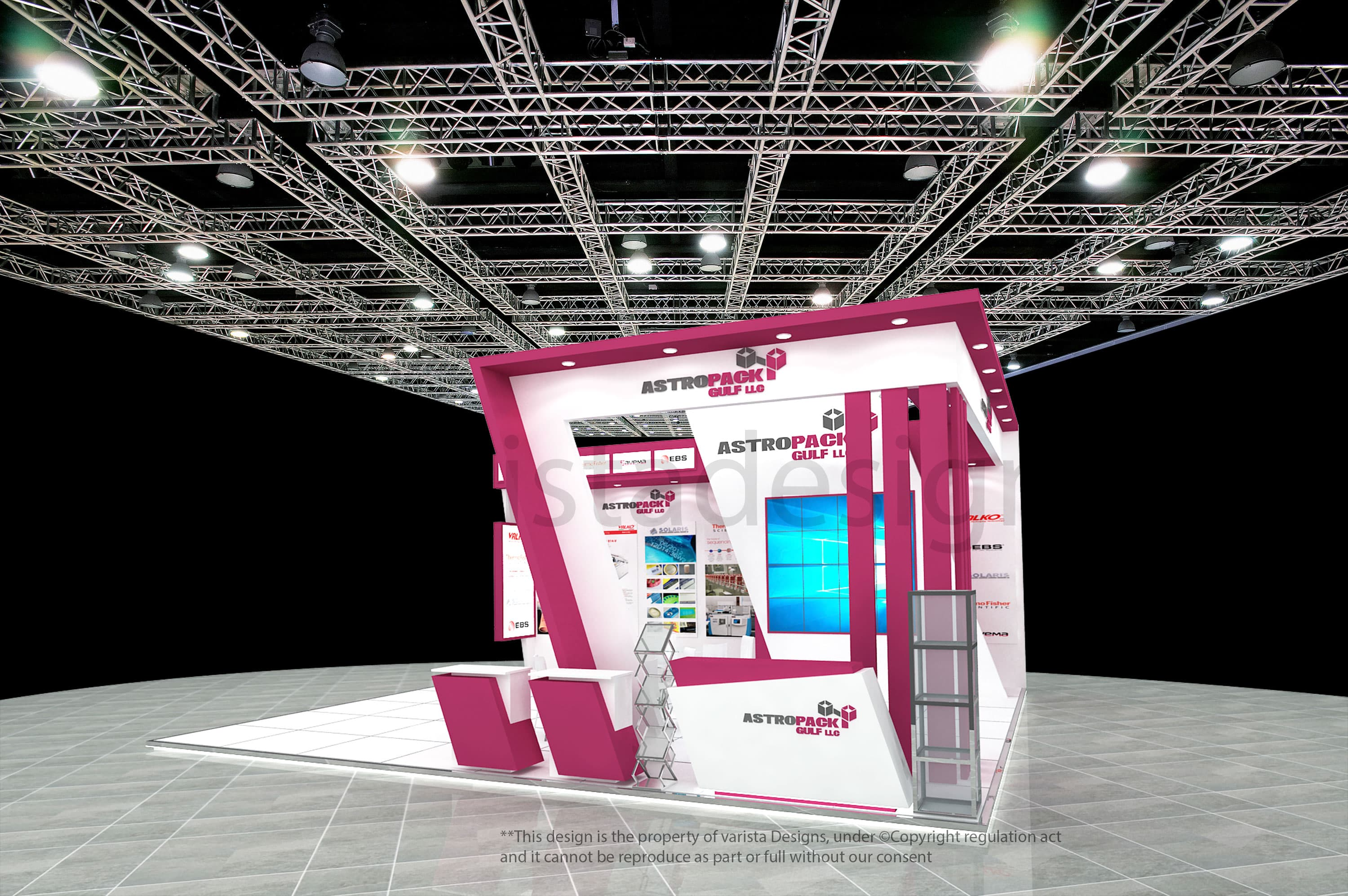 astropack gulf llc exhibition stand design dubai
