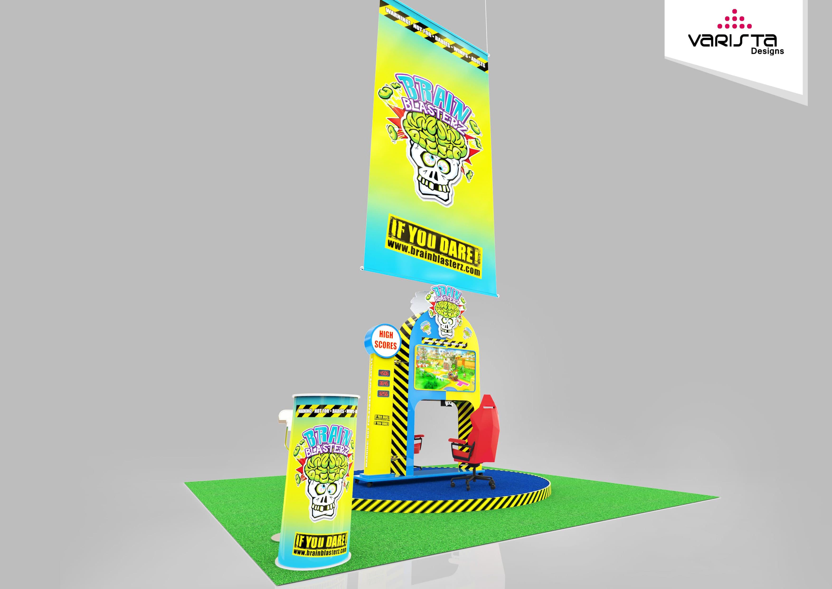 brain blasterz exhibition stand designs for adnec
