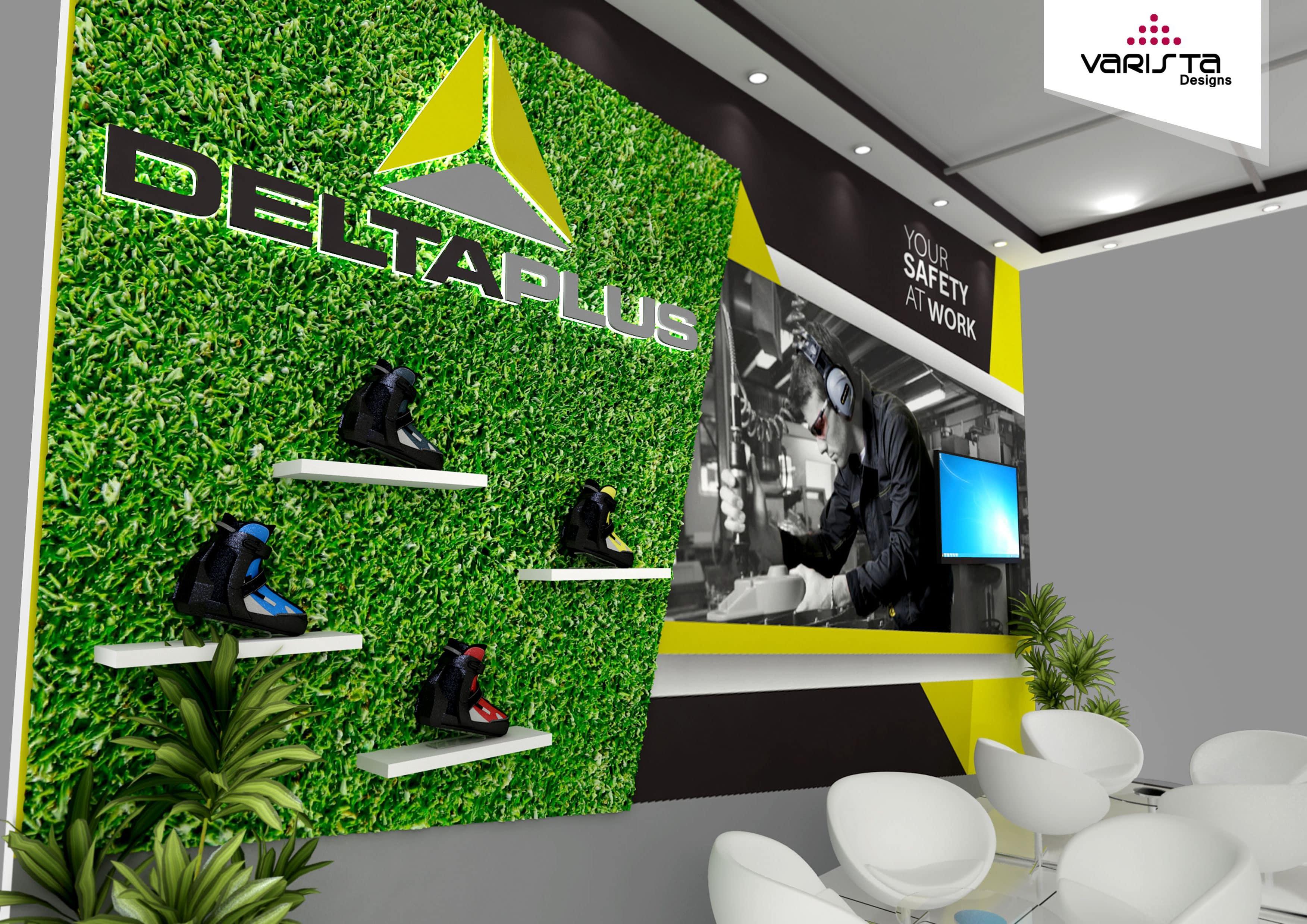 deltaplus exhibition stand designsed by varistadesigns