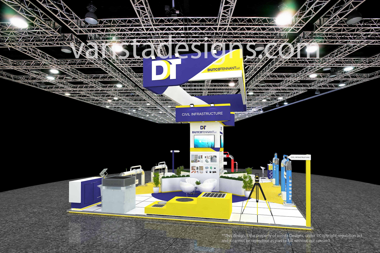 dutco tennant exhibition stand designs