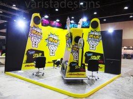 ADNEC brain blasters exhibition stand contractors Abudhabi