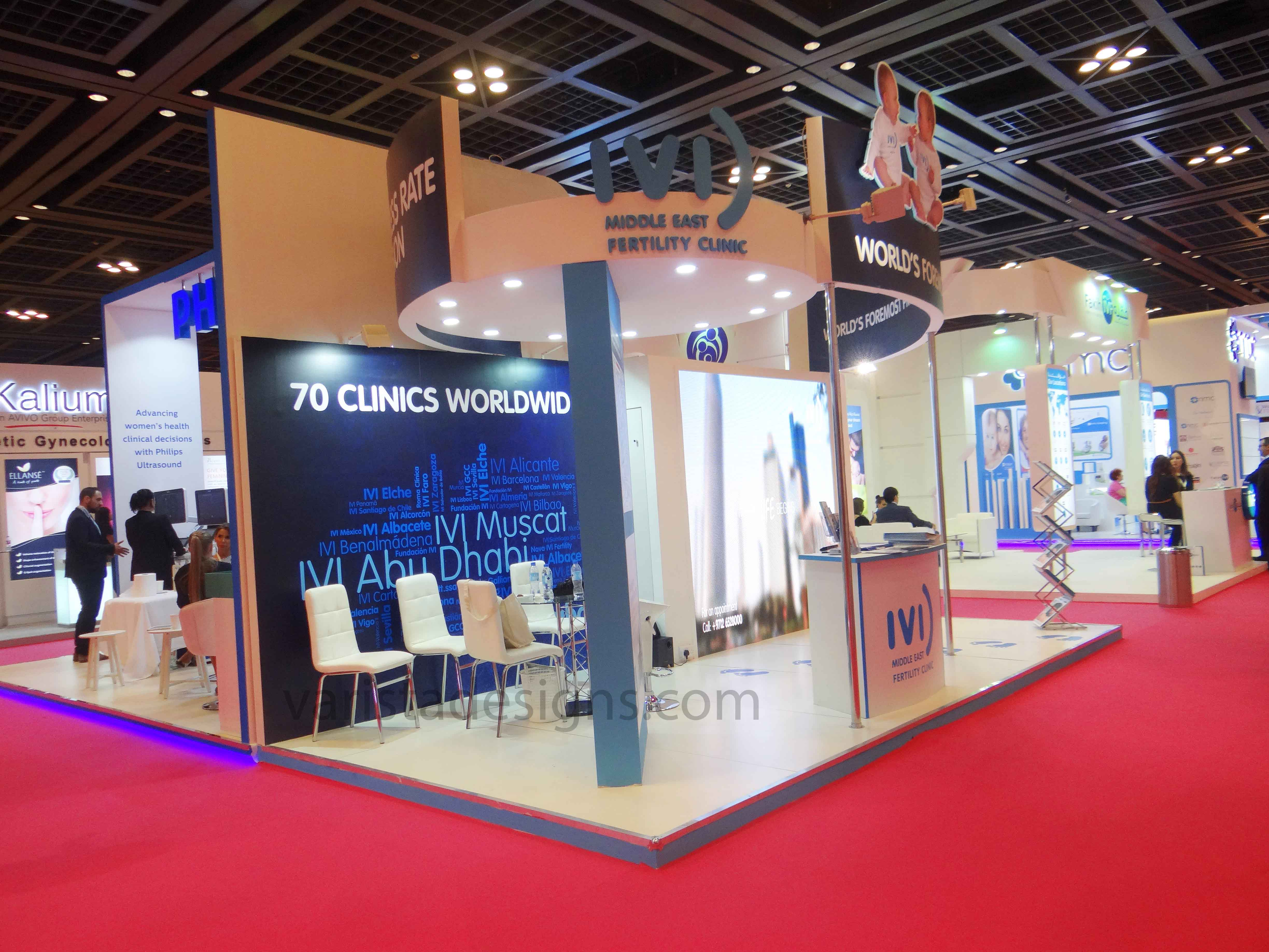 OBS GYNEC IVI exhibition stand designers