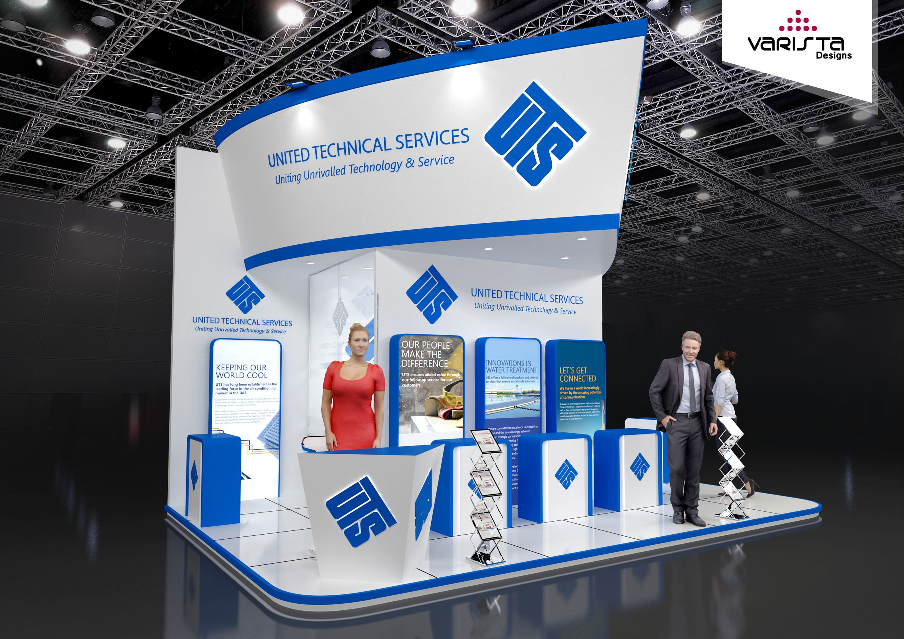 Exhibition Stall Companies : Get free designs proposal for exhibition booth interior design