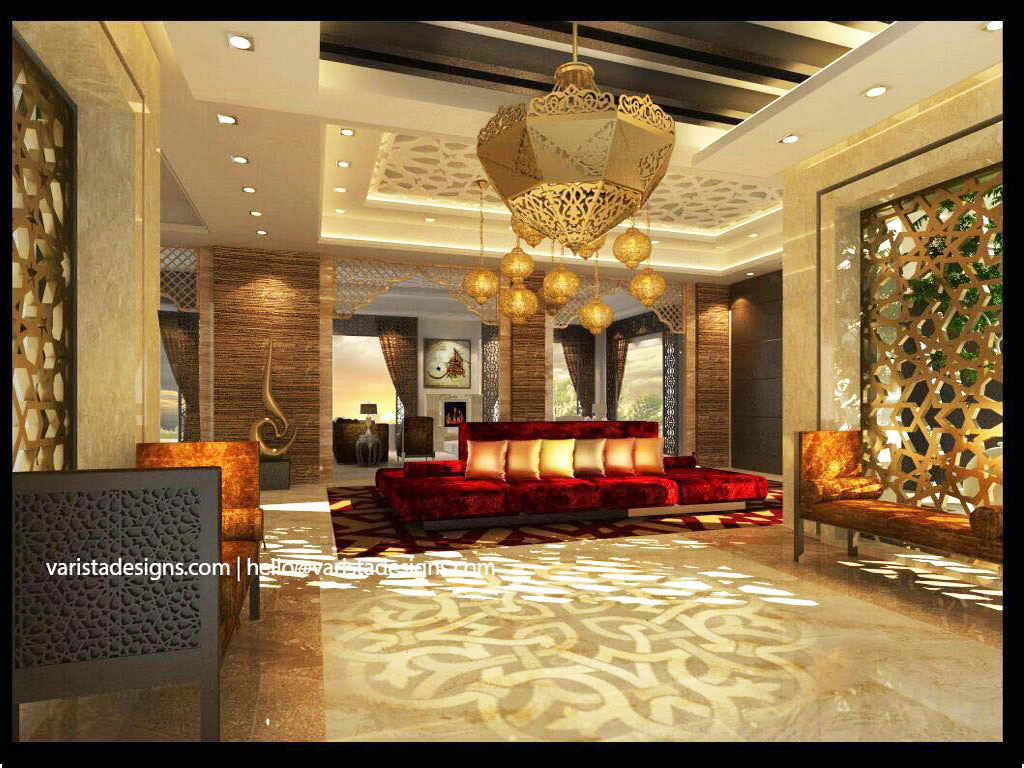 living room interior designers fitout company in dubai