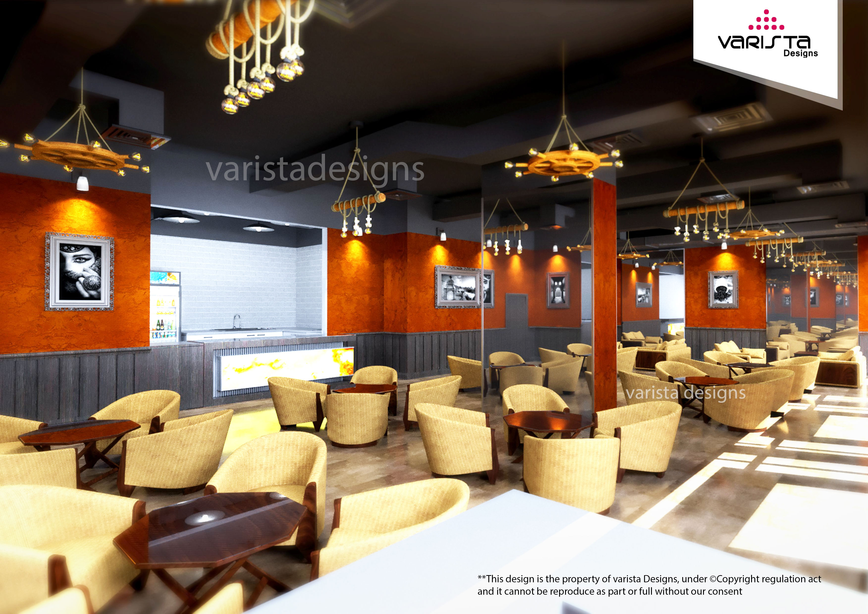 shisha cafe interior design fitout by varistadesigns