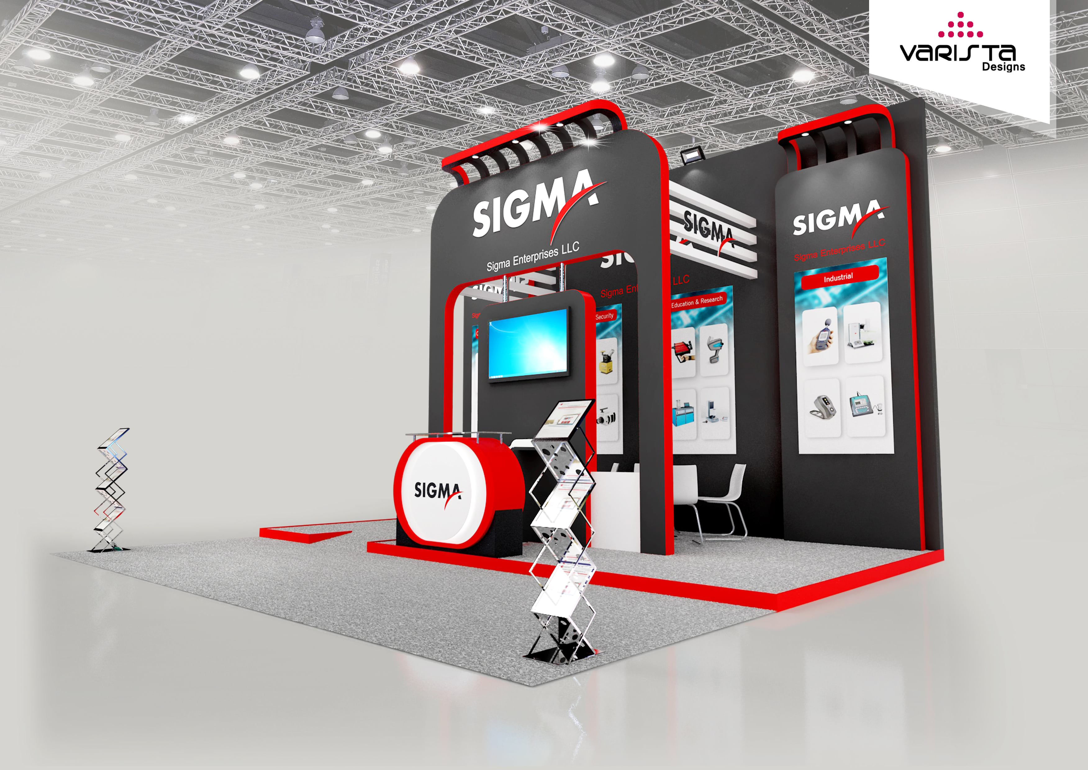 Exhibition Stand Proposal : Get free designs proposal for exhibition booth interior design