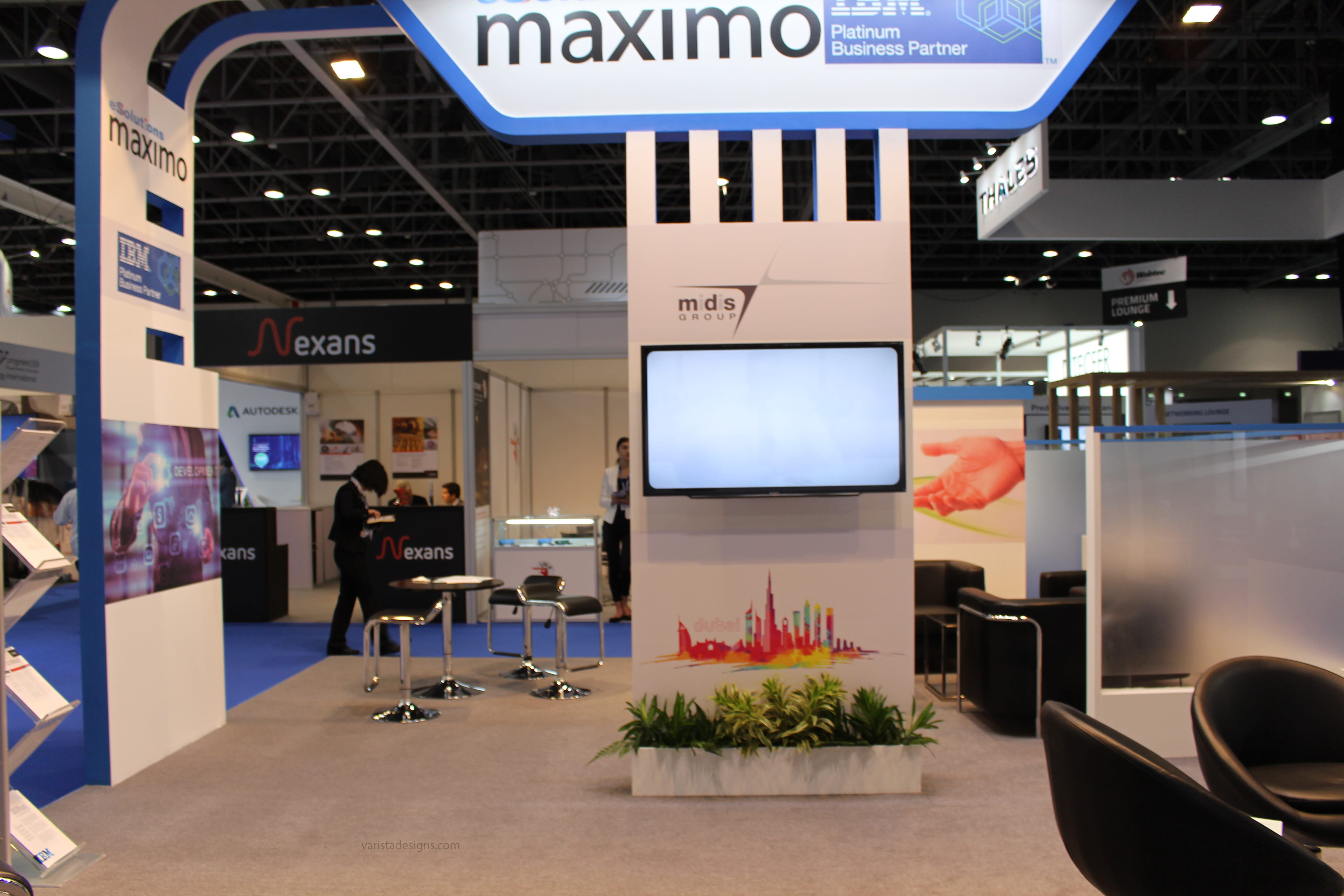 eSolutions Maximo exhibition stand builders MER-2017