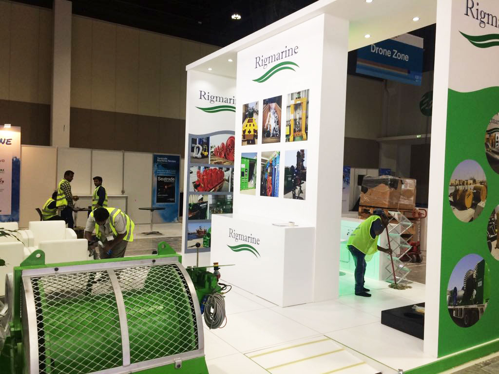 Exhibition stand rigmarine