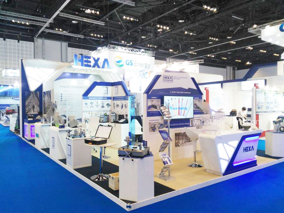 varista designs Hexa Oil Gas ADIPEC