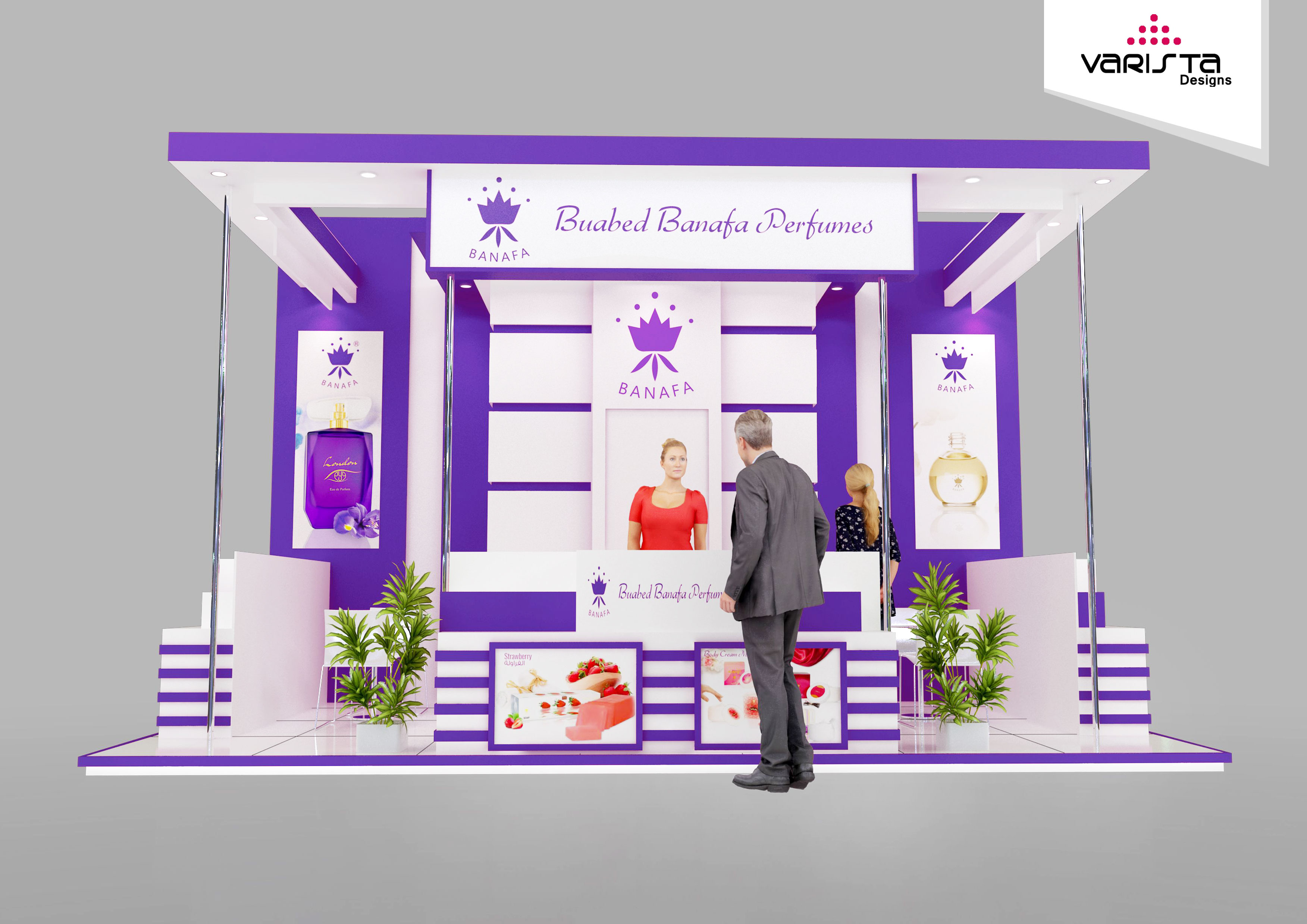 beauty world exhibition stand dubai