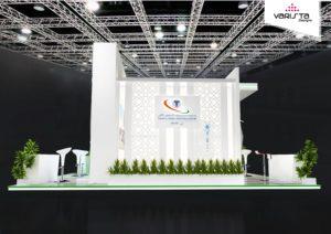 exhibition stand designs for german saudi hospital dubai